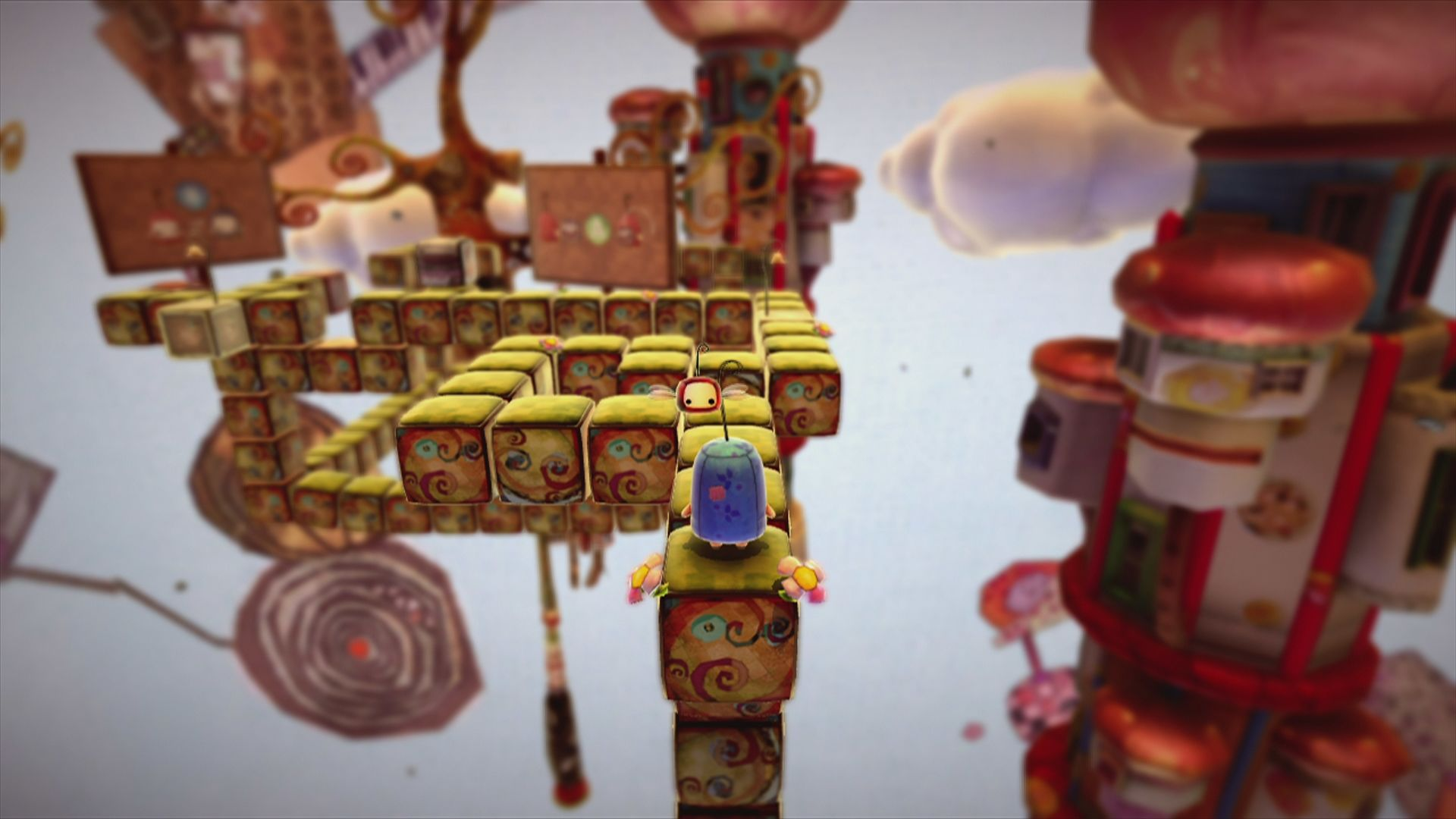 ilomilo Xbox 360 Welcome to ilomilo ... a world that will twist and bend your brain