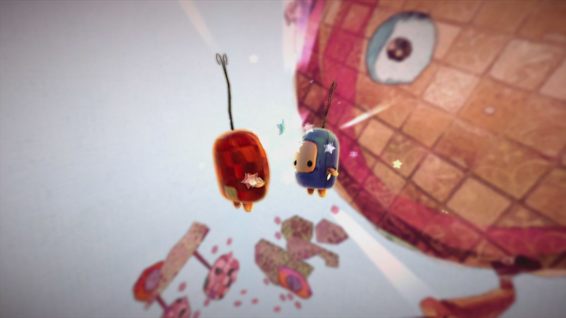 ilomilo Xbox 360 Once you found your buddy and finished a level, you will get a little dance