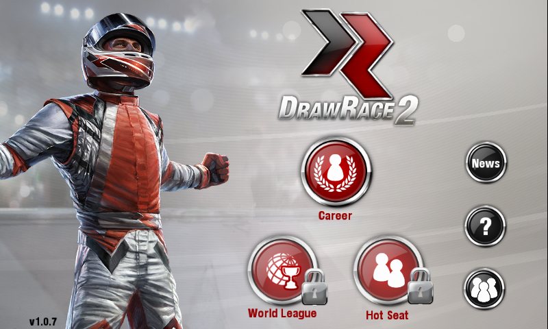 DrawRace 2 Android Main menu