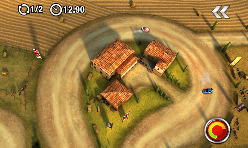 DrawRace 2 Android Beautiful rural areas in Tuscany