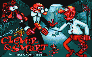 Clever & Smart Atari ST Title