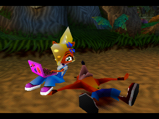 Crash and Coco Bandicoot Siblings