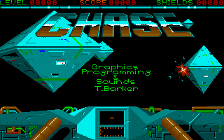 Chase Amiga Title screen and credits
