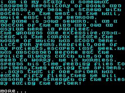 Dracula ZX Spectrum Chapter 3: The beginning