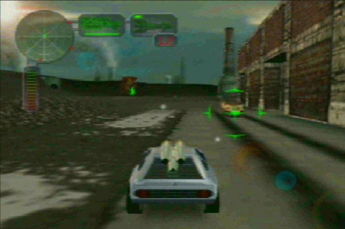 Vigilante 8: 2nd Offense Nintendo 64 Running Head-On