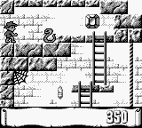 Montezuma's Return! Game Boy Why does have to be snakes!?
