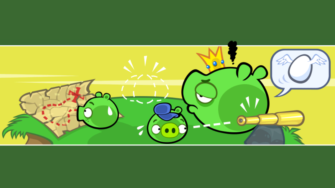 Bad Piggies iPhone The pigs have a plan...maybe
