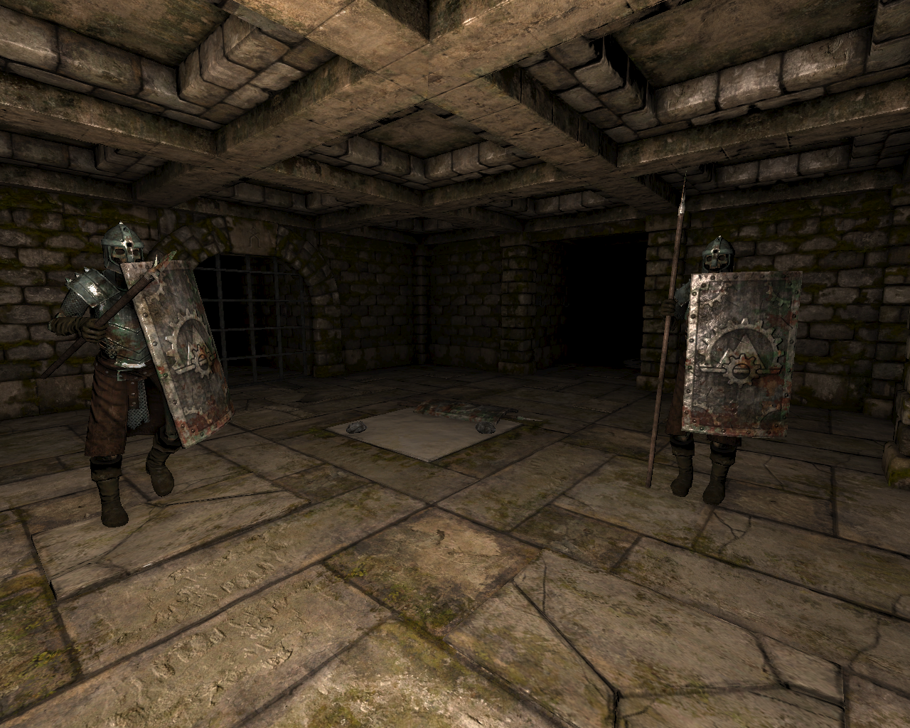 Legend of Grimrock Windows Skeleton warriors