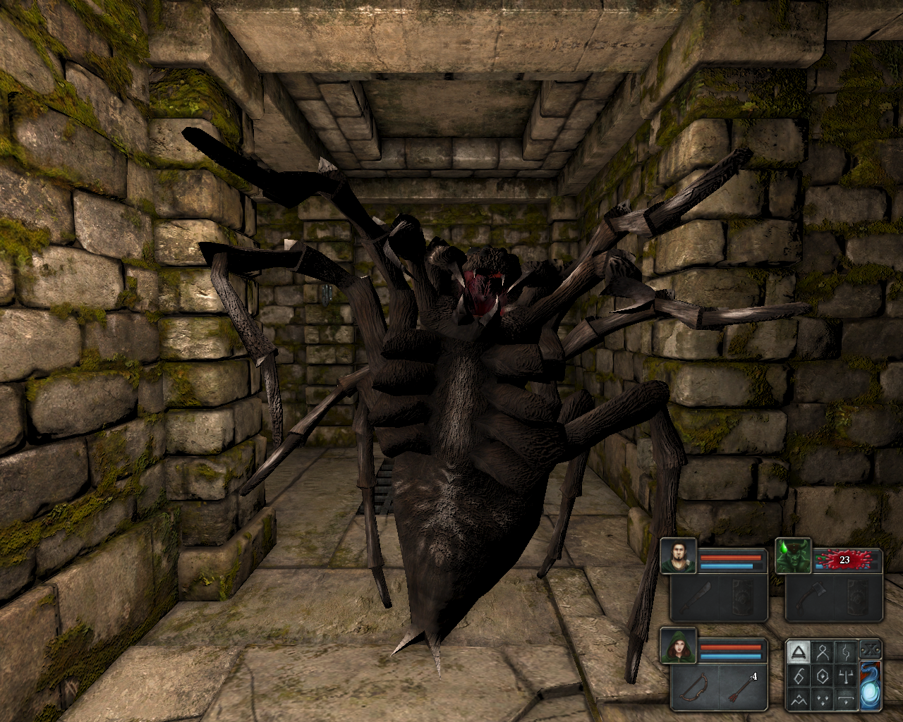 Legend of Grimrock Windows Spider!