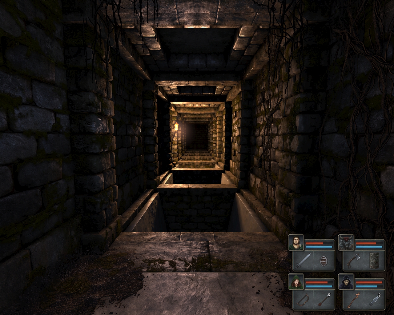 Legend of Grimrock Windows Put away your torch and witness some moody corridors