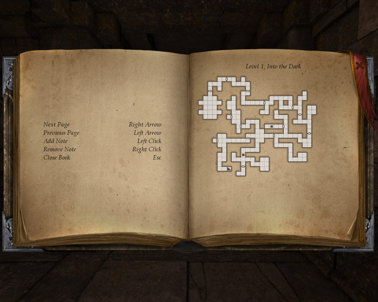 Legend of Grimrock Windows Automapping
