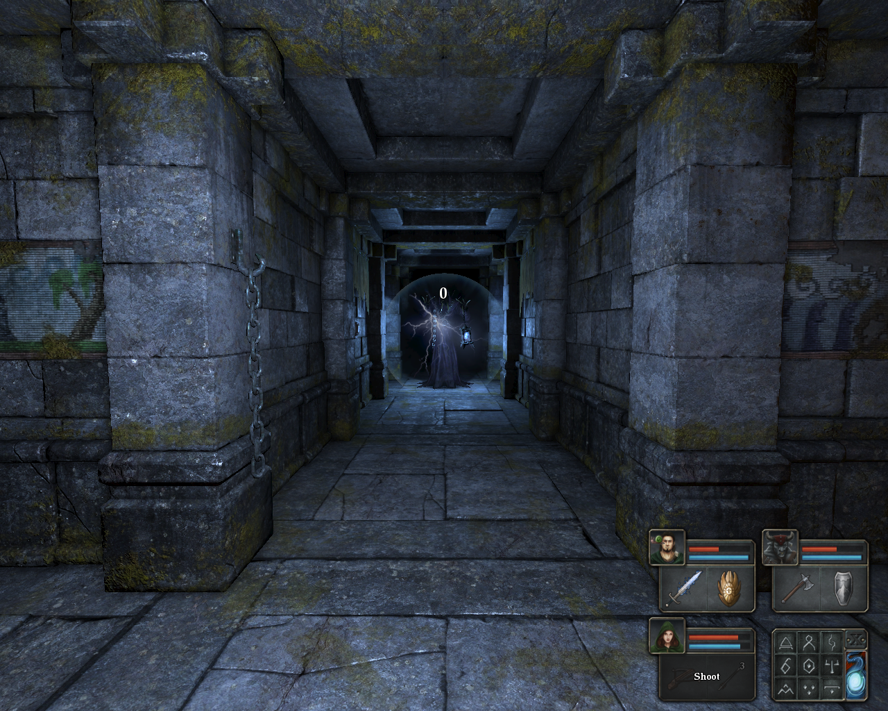 Legend of Grimrock Windows The mages are shielded
