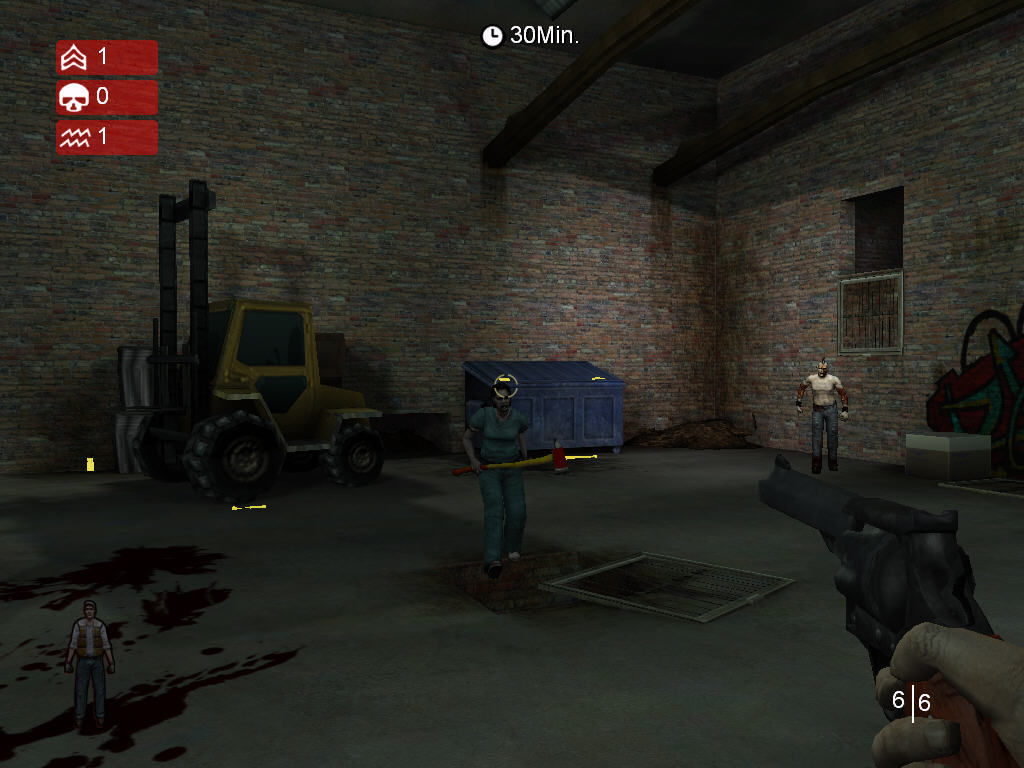 Land of the Dead: Road to Fiddler's Green Windows zombie with ave. solution? headshot. :D