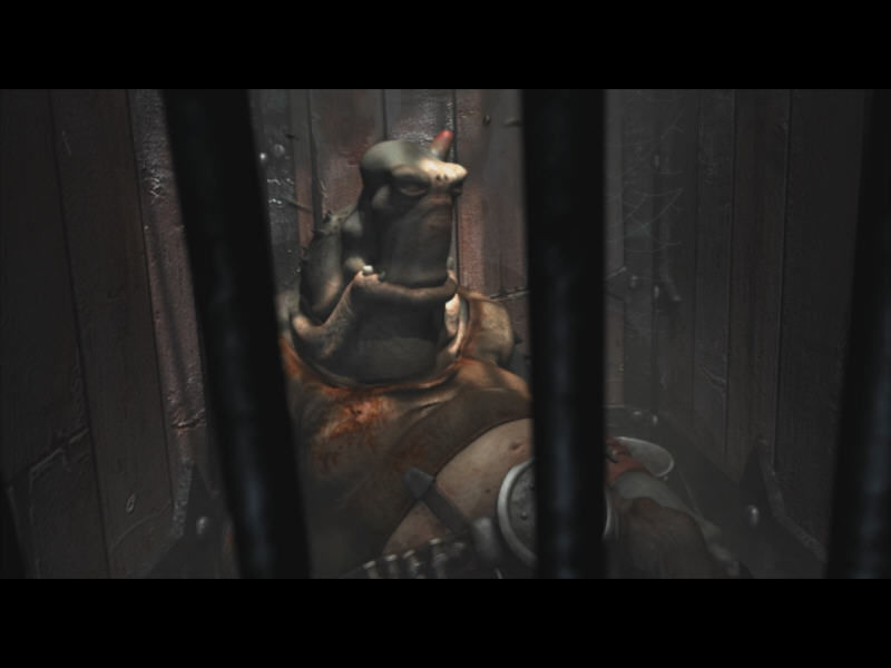Oddworld: Stranger's Wrath Windows Cut-scene in game