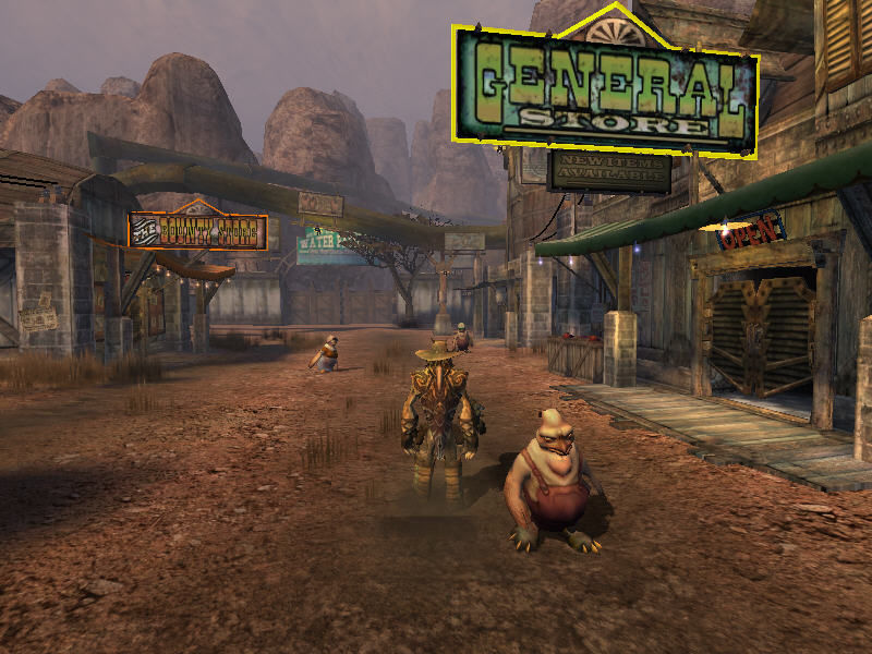 Oddworld: Stranger's Wrath Windows civilians in this game are...strange...