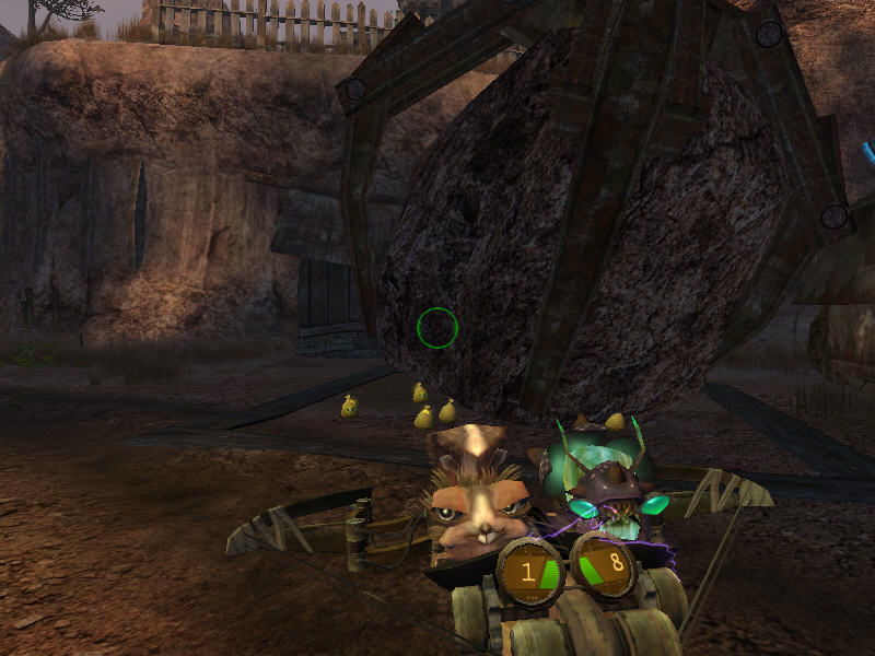 Oddworld: Stranger's Wrath Windows Giant stone ball?