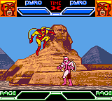 X-Men: Mutant Academy Game Boy Color Pyro vs Pyro