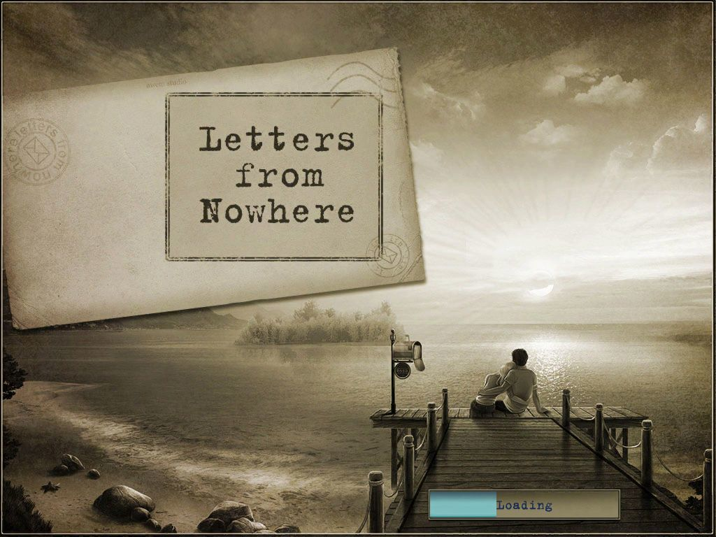 Letters from Nowhere iPad Title