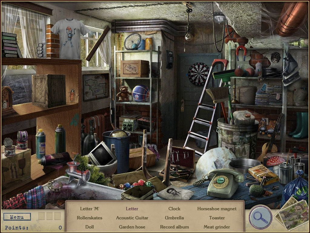 Letters from Nowhere iPad Cellar - objects