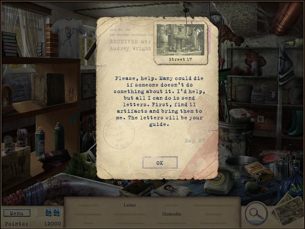 Letters from Nowhere iPad Found a letter