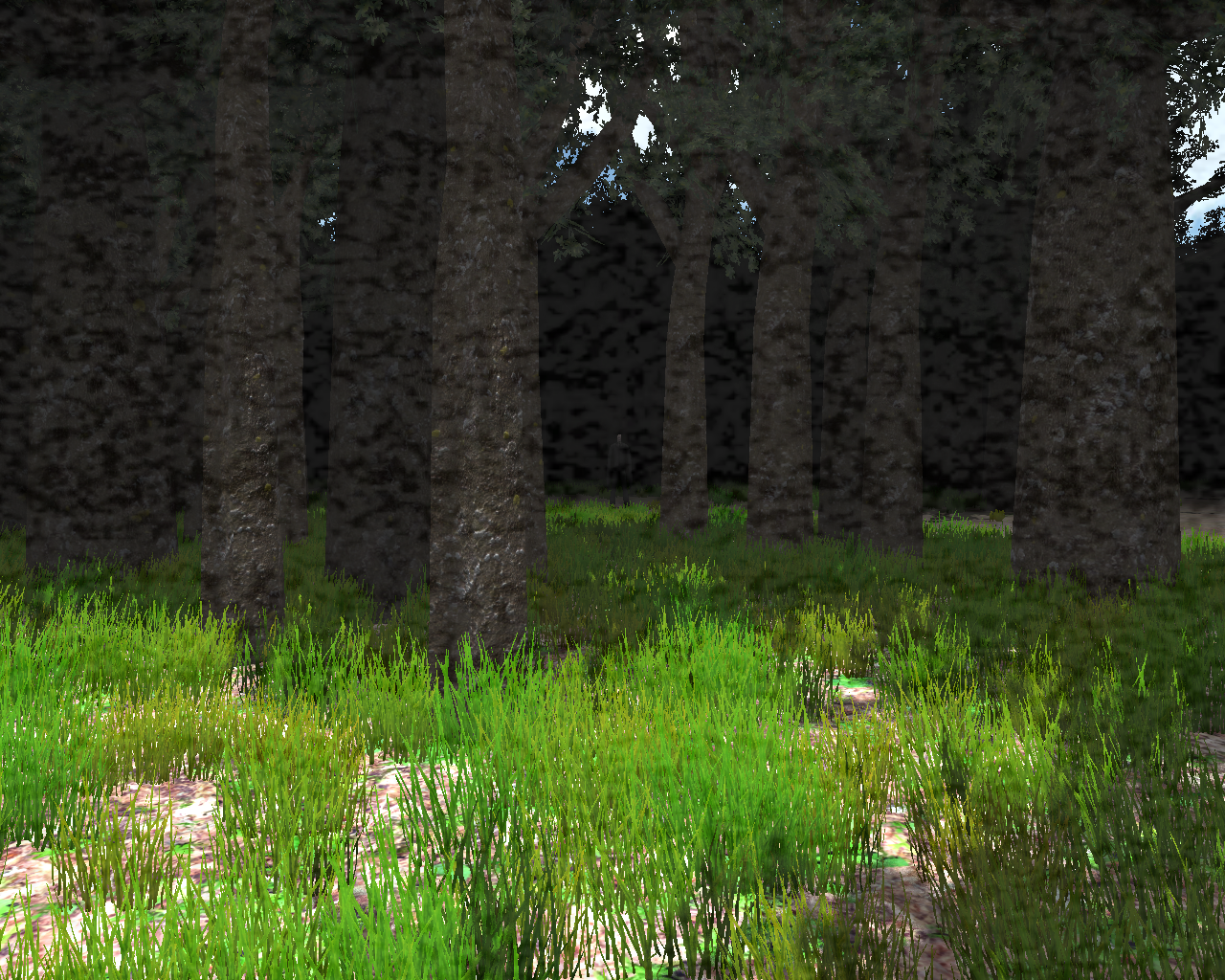Slender: The Eight Pages Windows You can see Slender Man from afar in daytime mode