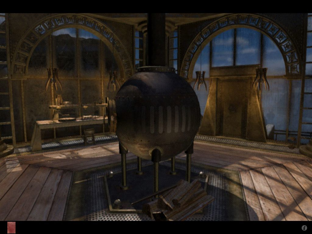 Riven: The Sequel to Myst iPad Gehn's laboratory