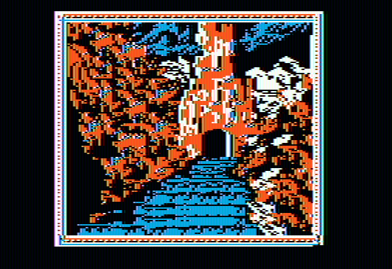 The Crack of Doom Apple II An uneven staircase