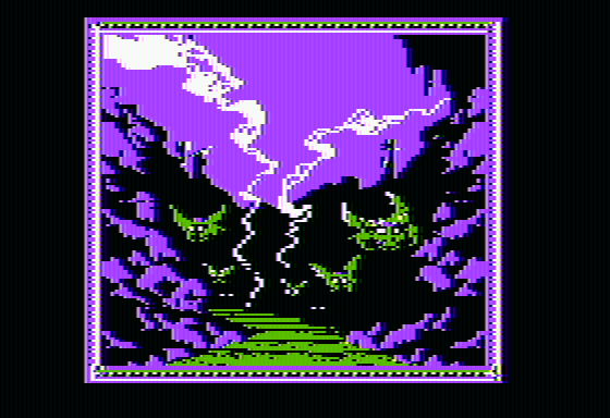 The Crack of Doom Apple II An ominous looking road