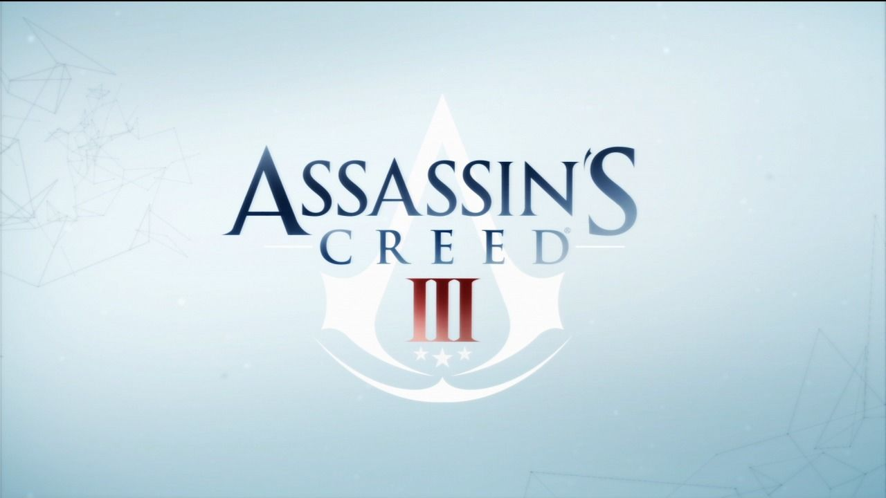 Assassin's Creed III PlayStation 3 Title screen