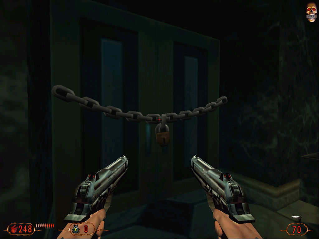 Blood II: The Chosen Windows Destroy the lock