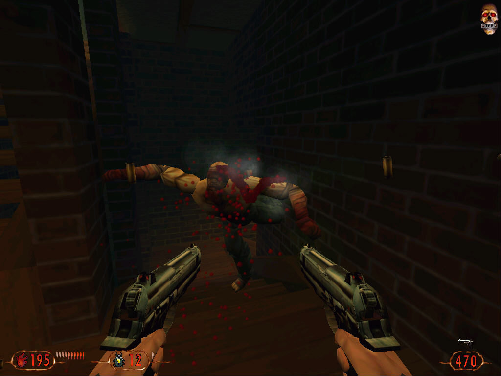 "Blood II: The Chosen Windows Enemy ""dance"""