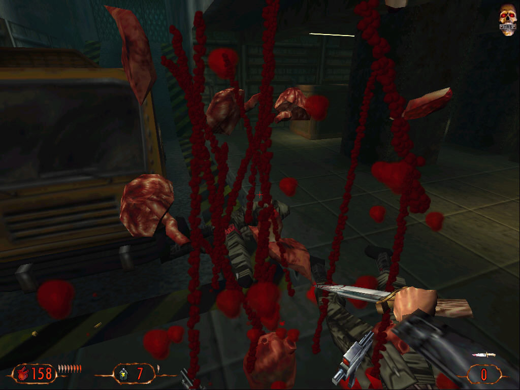 Blood II: The Chosen Windows Flying meat.