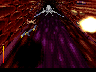 Fade to Black PlayStation Whee!! Look at this! One of the final levels is a scrolling shooter!