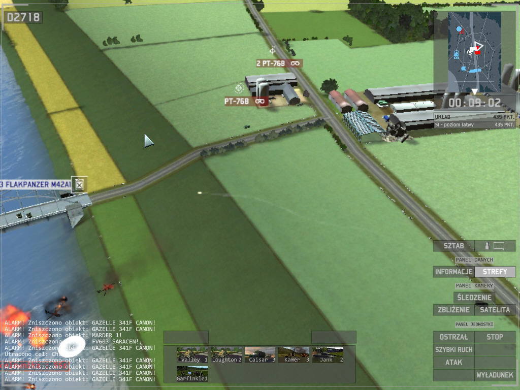 Wargame: European Escalation Windows destroyed heli in river