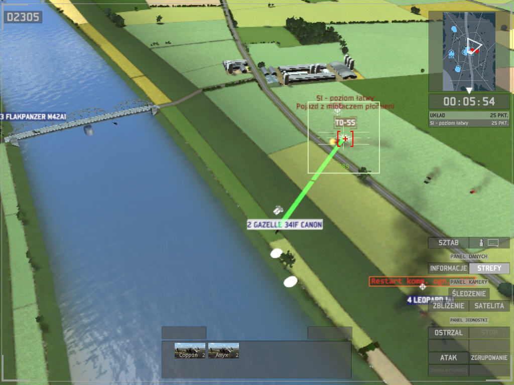 Wargame: European Escalation Windows oki, heli can destroy  enemy vehicle