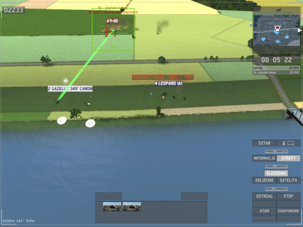 Wargame: European Escalation Windows tanks must restart system.