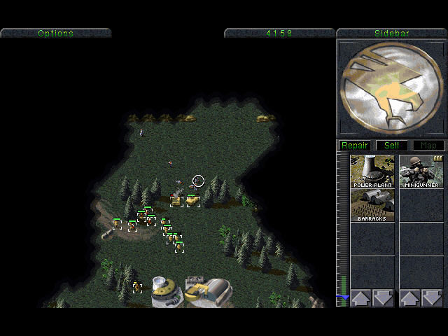 Command & Conquer DOS Kill the enemy!