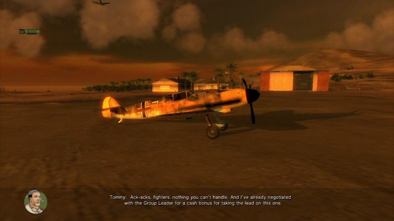 Air Conflicts: Secret Wars PlayStation 3 Taking off... flying enemy plane will boost your stealth.