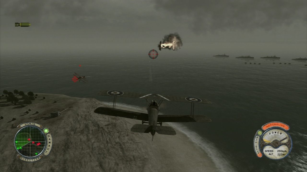 Air Conflicts: Secret Wars PlayStation 3 World War I missions are played through a story told flashbacks.