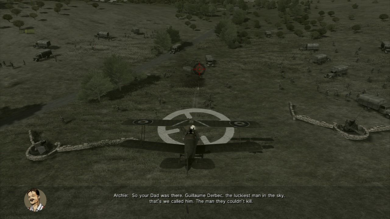 Air Conflicts: Secret Wars PlayStation 3 Use bomb marker to help you hit the ground targets.