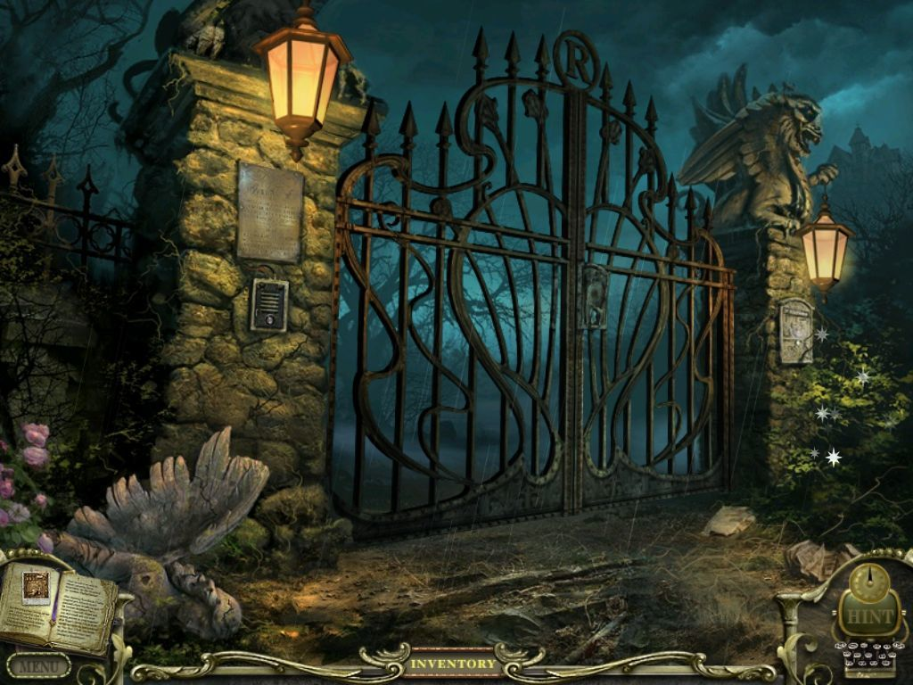 Mystery Case Files: Return to Ravenhearst iPad The Gate - game start