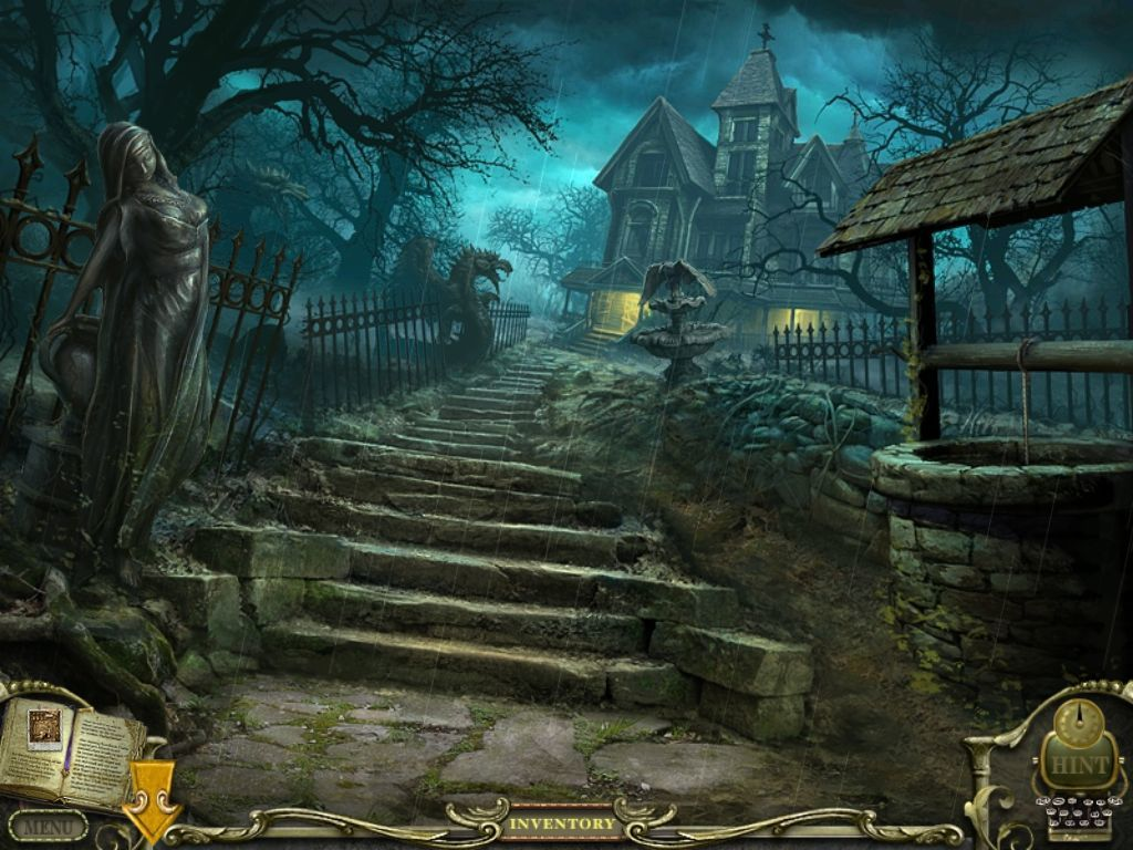 Mystery Case Files: Return to Ravenhearst iPad The house
