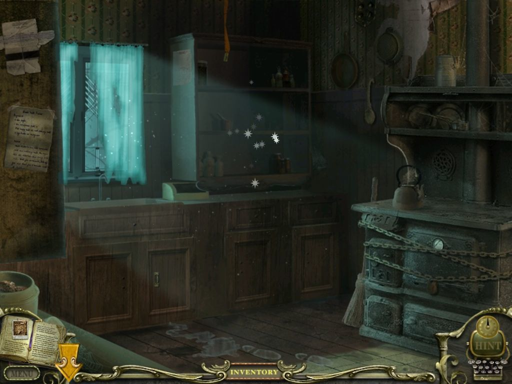 Mystery Case Files: Return to Ravenhearst iPad Kitchen