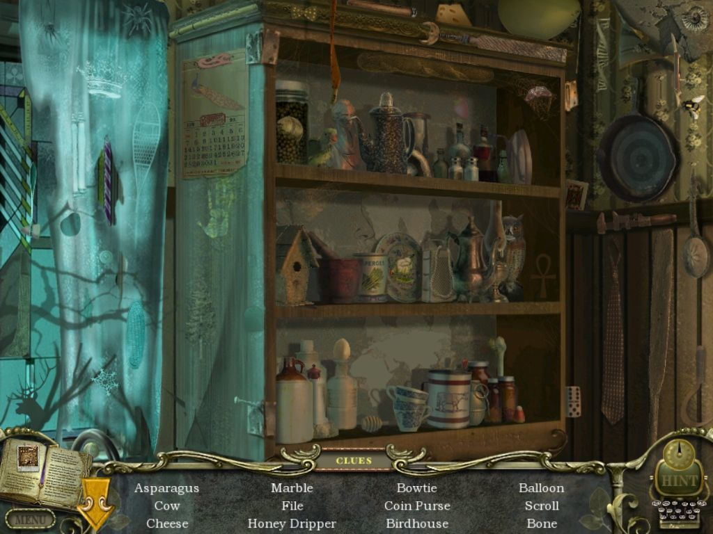 Mystery Case Files: Return to Ravenhearst iPad Kitchen - objects