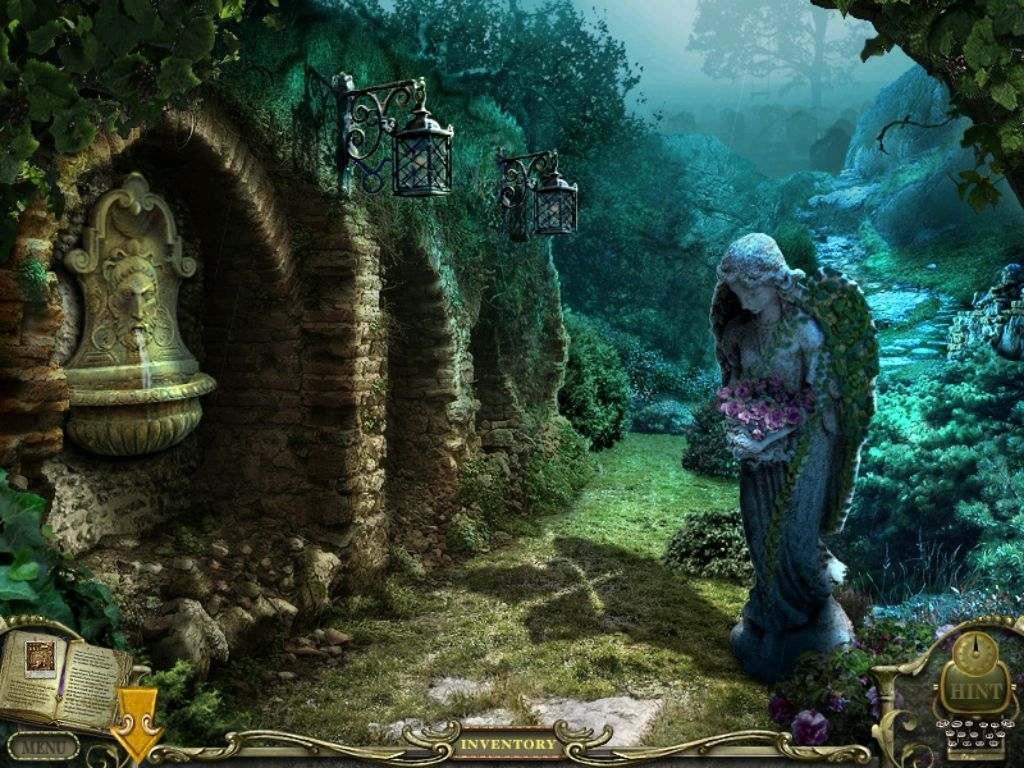 Mystery Case Files: Return to Ravenhearst iPad More garden to explore