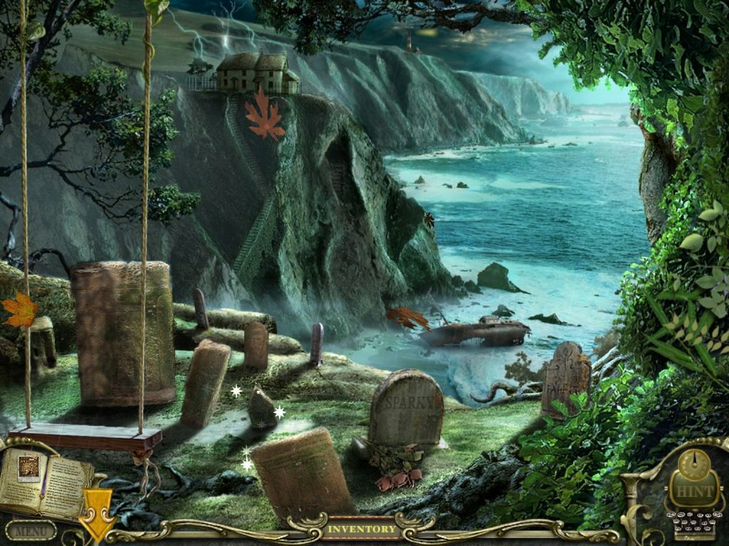 Mystery Case Files: Return to Ravenhearst iPad Graveyard by the shore