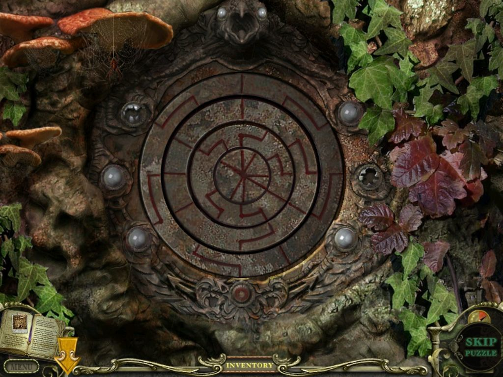 Mystery Case Files: Return to Ravenhearst iPad Graveyard tree trunk mini puzzle
