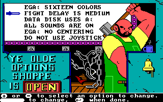The Ancient Art of War DOS Another game option (EGA/Tandy)