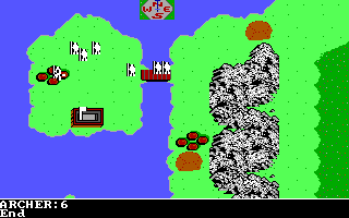 The Ancient Art of War DOS Size of Archer - The Rivalry (EGA/Tandy)