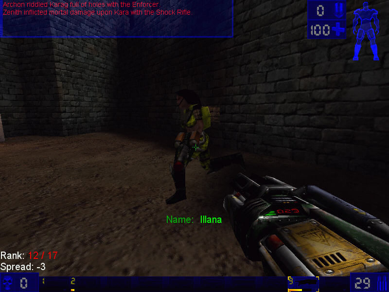 Unreal Tournament Windows Where you are going? Die here!